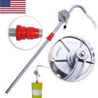 Manual Hand Rotary 55 Gallon Barrel Pump Drum Fuel Gas Oil Transfer Pump Crank