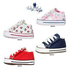 Converse Ctas Cribster Mid All Star Baby Neonato Primi Passi Tela Child Shoes