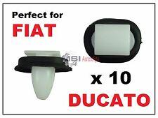 20x Fiat Ducato Lato Esterno stampaggio RUB bumpstrip//sportello inferiore Trim Clip