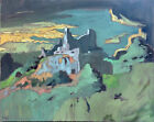 """Abstract Large Landscape Oil Painting 30""""x24"""" Original Signed on Canvas"""