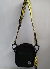 #FR2 Fxxking Rabbits LOGO Tape BLACK SACOCHE Cross-Body Shoulder Tote Bag
