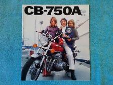 HONDA, Genuine Sales Brochure, CB750A, CB 750 A, Automatic, 1976
