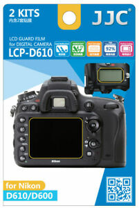JJC LCP D610 LCD Guard Film Camera Screen Display Protector for NIKON D610 D600