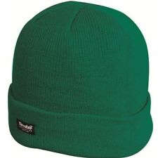 Highlander Mens Acrylic Warm Thinsulate Insulated Ski Hat 5034358390532 Forest