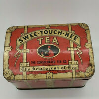 VINTAGE ~ MINI CHEST ~ SWEE-TOUCH-NÉE-TEA ~  CONSOLIDATED TEA CO ~ TIN