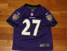 NIKE BALTIMORE RAVENS RAY RICE FOOTBALL JERSEY BOYS TODDLER SMALL 4T EXCELLENT