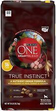 Purina ONE SmartBlend True Instinct Natural Adult Dry Dog Food 36lb - NEW
