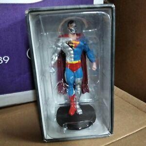 eaglemoss SUPER HERO -  plomb - DC / MARVEL - cyborg Superman