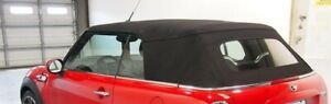 2009-2015 Mini Cooper Replacement Convertible Soft Top in BLACK RPC Twillfast