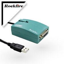 Rockfire USB Game Port Adapter RM-203 Gameport USB to 15-P Female MIDI Joystick