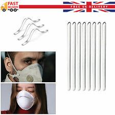 DIY 100X Face Mask Making Nose Bridge Strip Wire Metal Bendable Accessories