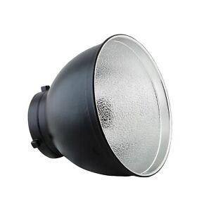 "PhotoSEL FRS558 20cm 7.87"" Standard Flash Reflector Bowens S Type Studio Light"