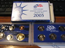 2005  US Mint Proof Set Clad
