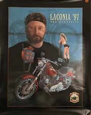 Lanconia 1997 New Hampshire Motorcycle 74th Ann Rally/Race EventJune 8-15 Poster