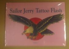 SAILOR JERRY TATTOO FLASH BOOK VOLUME 2 BRAND NEW & SHRINKWRAPPED - OUT OF PRINT