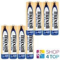 8 MAXELL ALKALINE AAA LR03 BATTERIES 1.5V MICRO MN2400 NEW
