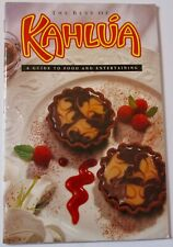 Vintage The Best of Kahlua A Guide To Food And Entertaining