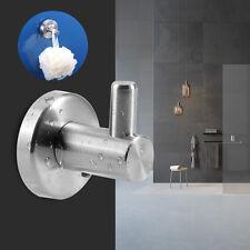 304 Stainless Steel Bathroom Wall Mounted Towel Rack Coat Hat Hook Door Hanger B