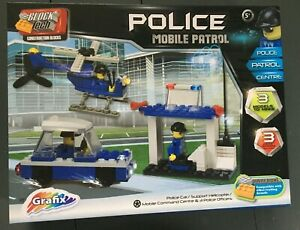 Block Tech Building Bricks (Lego) - Police Mobile Patrol  (125 pieces) BNIB 5+