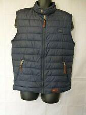 Camel Active Superior Quality Garment Men's Full Zip Vest Navy / Chocolate