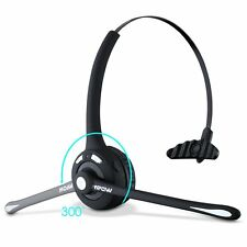 Mpow Business Wireless Bluetooth Headset Pro Over-Head Office Headphone with Mic