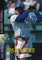 Alonzo Powell 95LEADERS 1996 BBM Baseball Card Chunichi Dragons