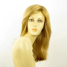 Perruque femme mi-longue blond doré ZELINDA 24B