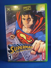 Xbox Superman The Man Of Steel Complete Video Game