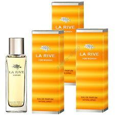 3x90ml = 270ml !!! LA RIVE FOR WOMAN Eau De Parfum Natural Spray !! TOP HIT !!