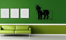 Wall Stickers Vinyl Decal Horse For Kids Cartoon Animal ig1531
