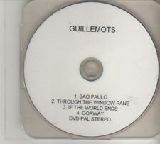 (DO850) Guillemots, Sao Paulo - DJ DVD
