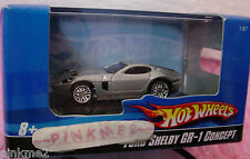 2008/2009 Hot Wheels FORD SHELBY GR-1 CONCEPT~variant  metallic SILVER ~1:87/HO