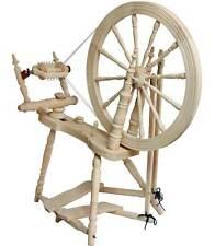 Kromski Symphony Unfinished Spinning Wheel W/Jumbo Flyer KIt Free Ship