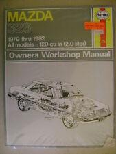 Mazda 626 Owners Workshop Manual  1979-1982