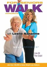 Walk Aerobics For Seniors (DVD, 2005) BRAND NEW SEALED  Leslie Sansone