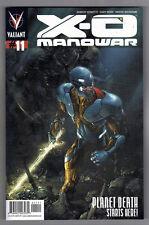 X-O MANOWAR #11 - CARY NORD ART - CLAYTON CRAIN COVER - 2013