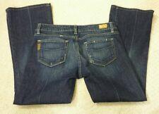 Paige Premium Denim 29 Laurel Canyon Low Rise Boot Cut Blue Jeans