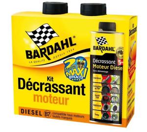 BARDAHL Pack Décrassant Moteur Diesel 5 en 1 GSA Filtre A Particules Injecteurs