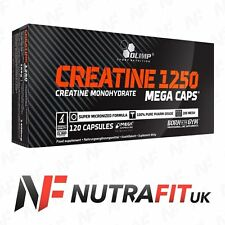 OLIMP CREATINE MONOHYDRATE 1250 120 MEGA CAPS MUSCLE GAIN