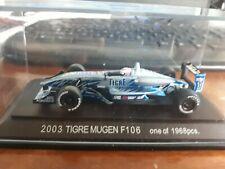 Ebbro 1/43 Tigre Mugen F106 #1 Japan F3 2003