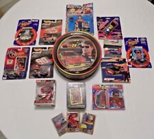 Huge Jeff Gordon Lot of 14 Diecast Cars Nascar Figures Tin Cards & More!!