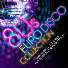CD 80s Euro Disco Collection von Various Artists 2CDs