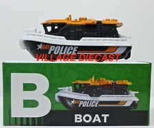 "2016 Matchbox Learning Blox ""B"" Bay Brigadeâ""¢ Orange / Police / Mint with Box"