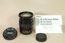Nikon Nikkor DX AF-S 18-70mm f3.5-4.5g ed