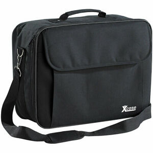 Beamertasche: Gepolsterte Beamer-Tasche Universal mit Innenteiler, Größe L