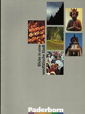 Dressler, Paderborn sguardi i Westfälische città, Paderborner image opuscolo'89