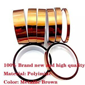 High Temp Heat BGA kapton proof Thermal Polyimide 300c Insulating Tape 3D UK