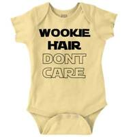 Space Movie Nerdy Hair Dont Care Geeky Galaxy Newborn Romper Bodysuit For Babies