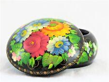 Boîte à bijoux collection décoration bonbonnière D12 H6 en bois peint main laqué