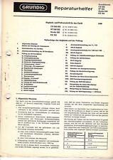 Grundig Service Manual für CS 550 - HF 550 - Studio 550 - KS 793 deutsch Copy